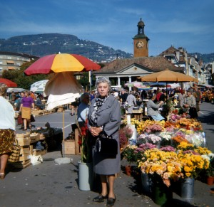 Grandma Wetzler in Switzerland
