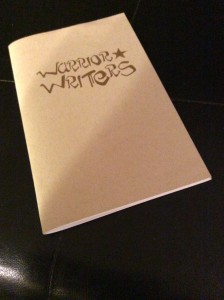 Collection of poems and essays from Warrior Writers Workshops.