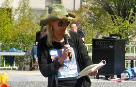 Morna McDermott at United Opt Out Event